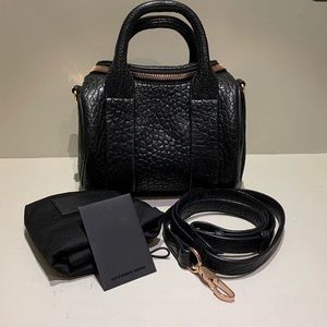 Alexander Wang Mini Rockie with Gold Hardware